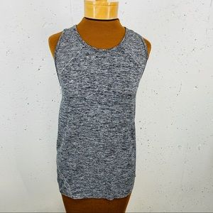 Gap Fit Size Large Gray Motion Tank Top